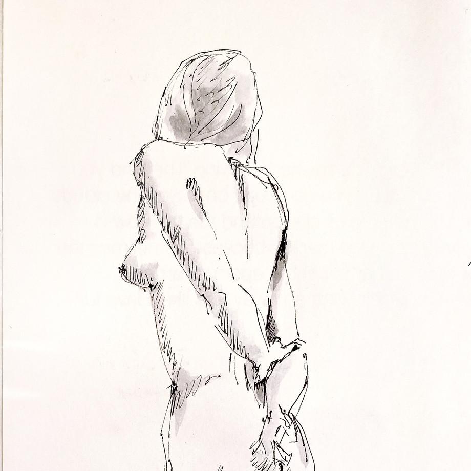 Life drawing #21