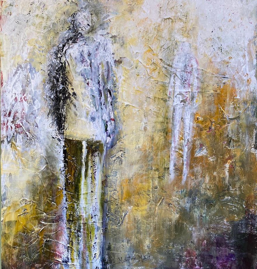 Man facing solitude