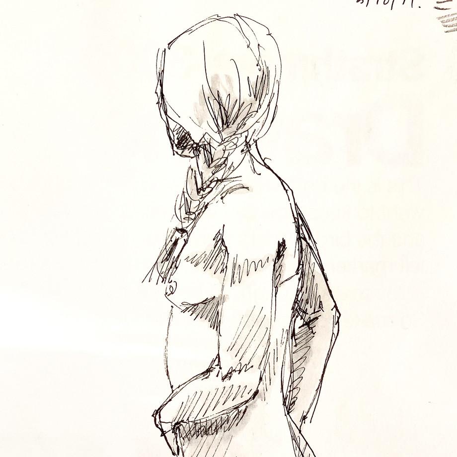 Life drawing#19