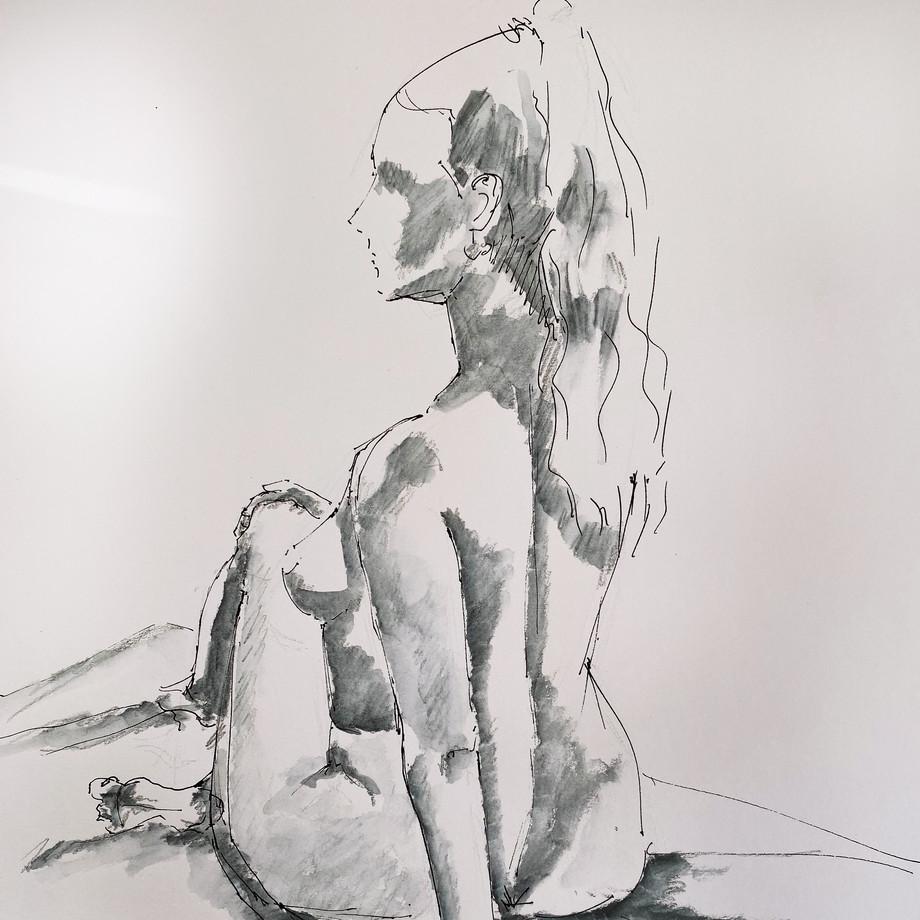 Life drawing #12