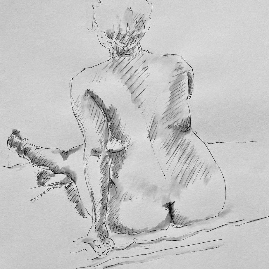 Life drawing #14