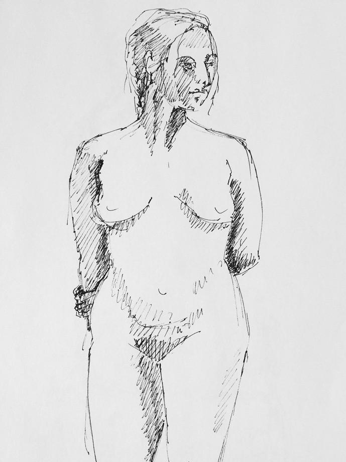 Life drawing #20