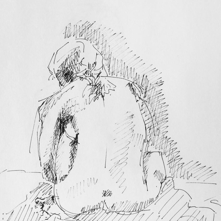 Life drawing #13