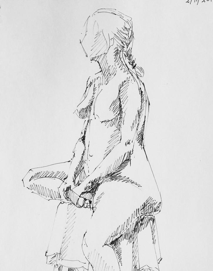 Life drawing #15