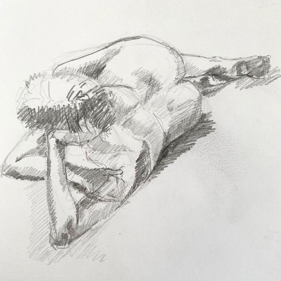 Life drawing #10