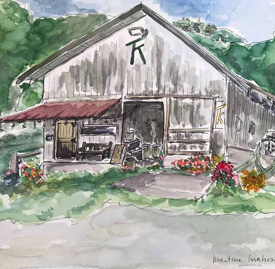 At Tomkat Ranch