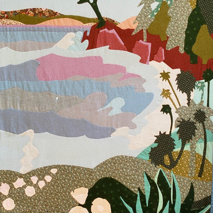Lonely Cypress Quilt