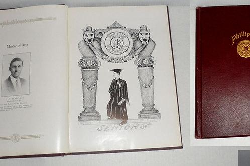 1916 Senior Class of Phillips University Book