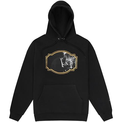 'Smoking Girl II' Hooded Sweatshirt