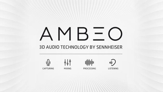 New immersive 3D audio technology from Sennheiser presented at CES: AMBEO