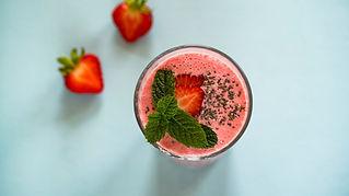 Jordbær Milkshake