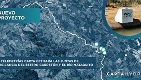 💧Proyecto Capta Hydro - 6 Telemetrías Capta CFT Secretaría de JV💧
