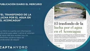 El trasfondo de la lucha por el agua en el Aconcagua