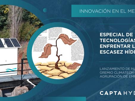 Prensa - Nuevo gremio Climatech + Publicación Innovación El Mercurio