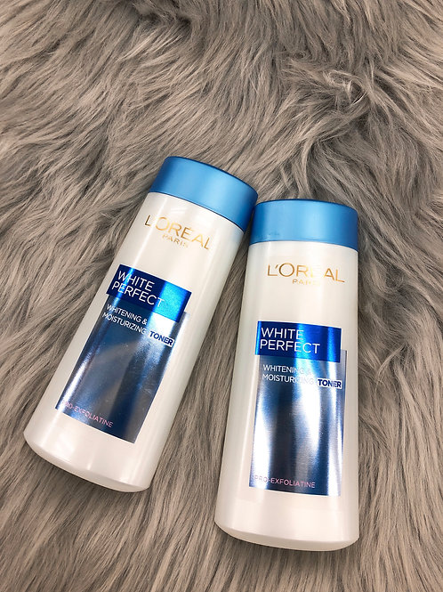 L'OREAL AURA PERFECT BRIGHTENING TONER 完美淨白爽膚水
