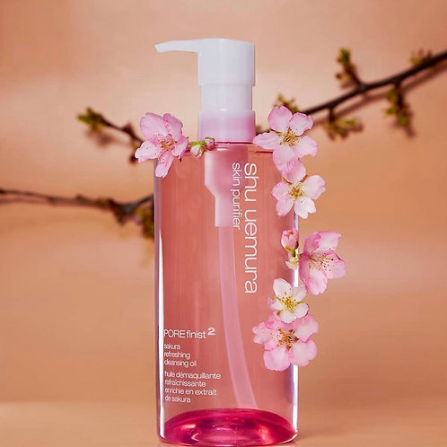 Shu Uemura POREfinist² sakura refreshing cleansing oil  櫻花輕膚潔顏油 的副本