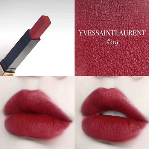 YSL ROUGE PUR COUTURE THE SLIM #09 絕色時尚啞緻唇膏 #09
