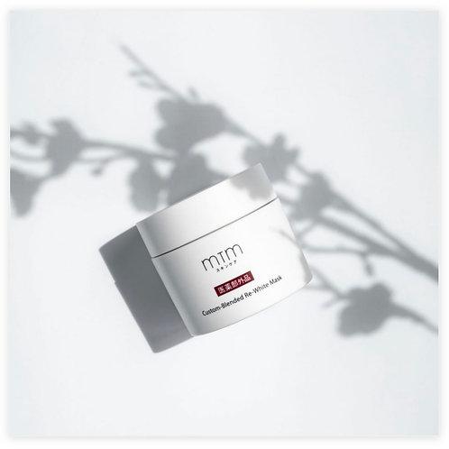 MTM Custom-Blended Re-White Mask 藥白系列面膜