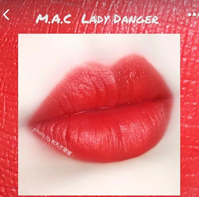 MAC MATTE LIPSTICK 經典啞光唇膏 #LADY DANGER
