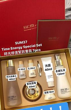 Su:m37° Time Energy Special Set 7pcs 時光能量套裝(7件)