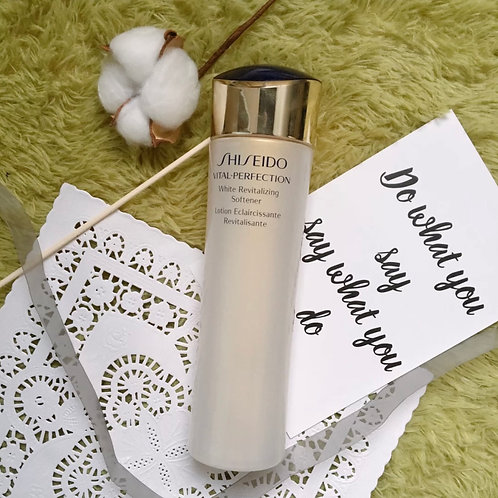 Shiseido Vital Perfection White Revitalizing Softener 全效美白抗紋清爽健膚水