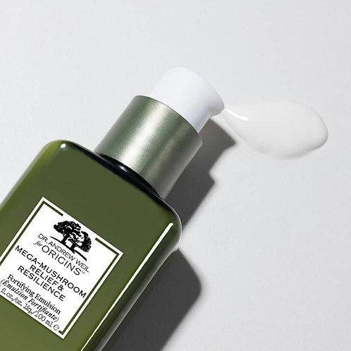 Origins Mega-Mushroom Relief & Resilience Fortifying Emulsion 靈芝菇菌抗逆健膚水凝乳液
