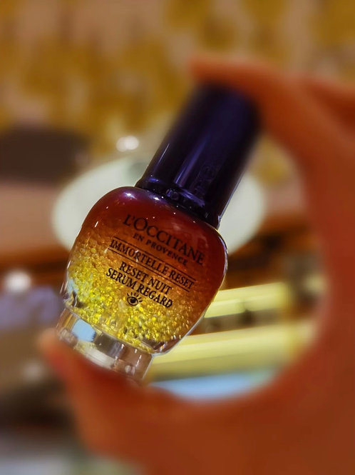 L'OCCITANE  Immortelle Reset Eye Serum  蠟菊煥活雙效眼部精華