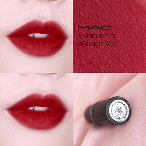 MAC MATTE LIPSTICK 經典啞光唇膏 #RUSSIAN RED