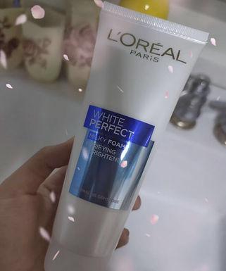 L'OREAL AURA PERFECT BRIGHTENING FACIAL FOAM  完美淨白泡沫潔面乳