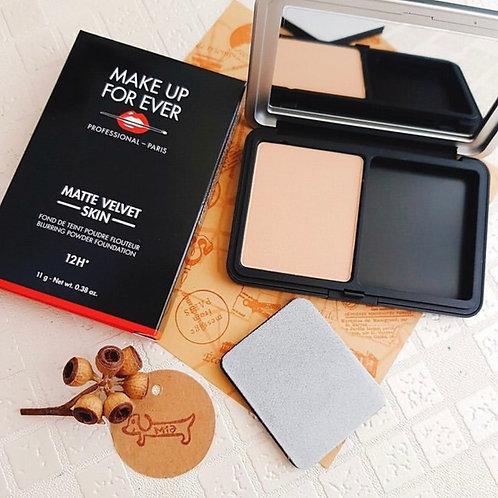 Makeup Forever  MATTE VELVET SKIN COMPACT 柔霧空氣粉餅