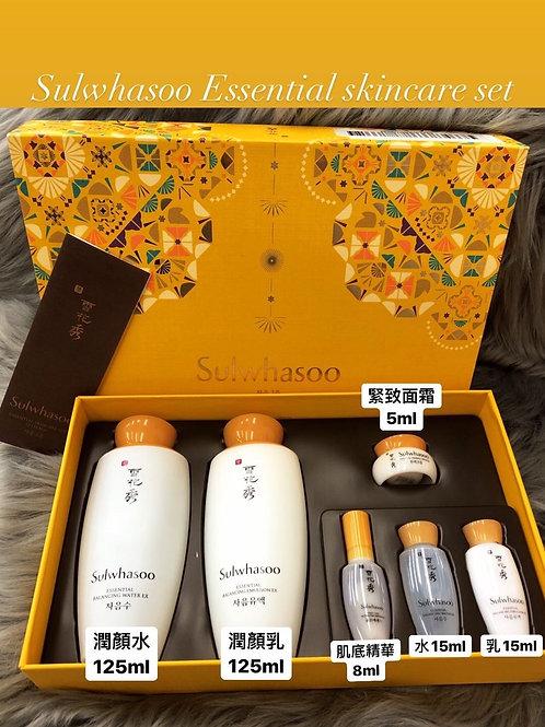 Sulwhasoo Essential Skincare Set 滋陰水乳套裝 (6件)