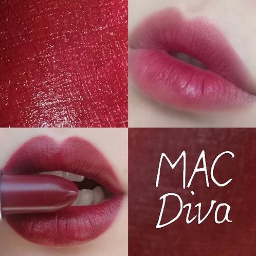 MAC MATTE LIPSTICK 經典啞光唇膏 #DIVA