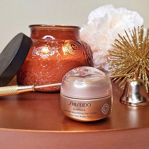 Shiseido Benefiance Wrinkle Smooth Eye Cream 深層滋養抗皺眼霜 的副本
