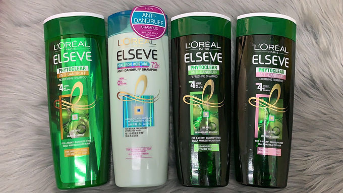 L'OREAL PARIS  Phytoclear Anti-Dandruff Shampoo 400ml 茶樹系列洗髮露