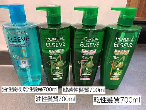 L'OREAL PARIS  Phytoclear Anti-Dandruff Shampoo 700ml 茶樹系列洗髮露