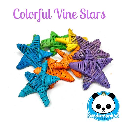 Colorful Vine Stars