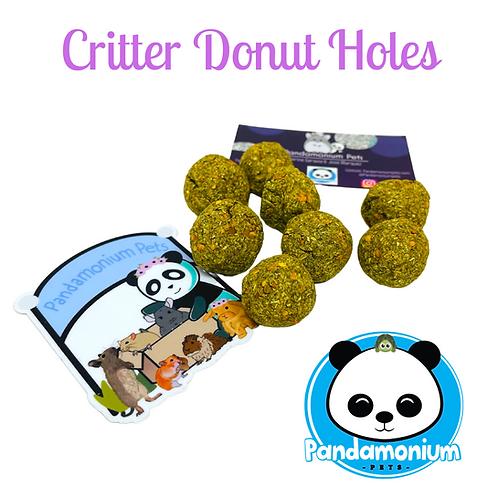 Critter Donut Holes