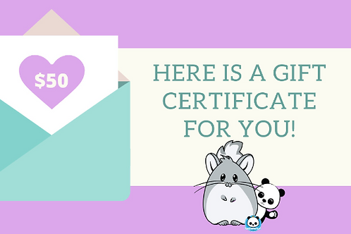 Pandamonium Pets Gift Card