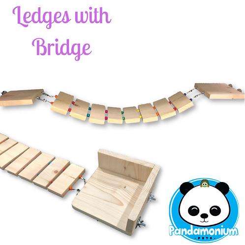 Ledges with Bridge