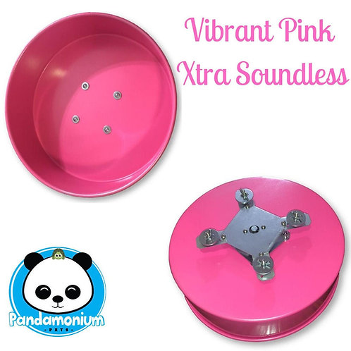 Sassy Pink XTRA Soundless Spinner- Xtremely LIGHT! Pandamonium Petsor