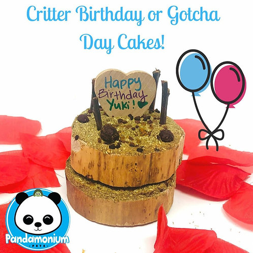 Critter Birthday or Gotcha Day Cakes