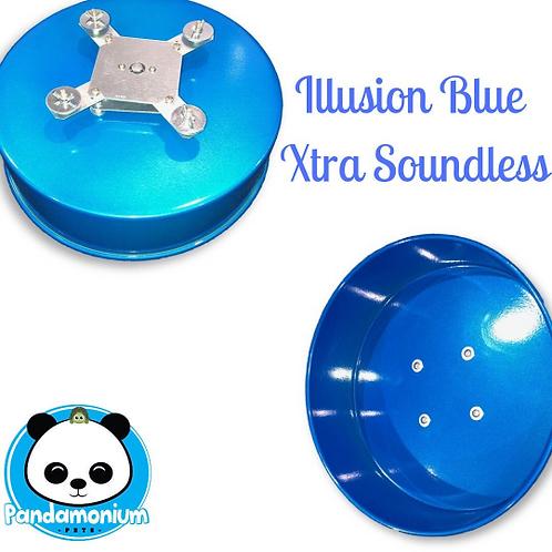 Illusion Blue XTRA Soundless Spinner- Xtremely LIGHT! Pandamonium Pets