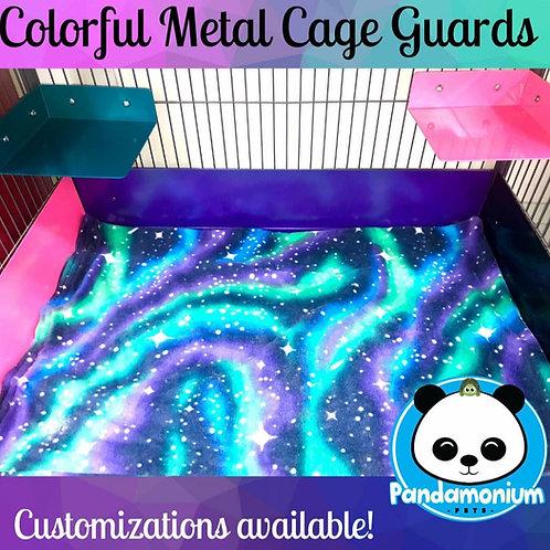Colorful Metal Cage Guards- Pandamonium Pets