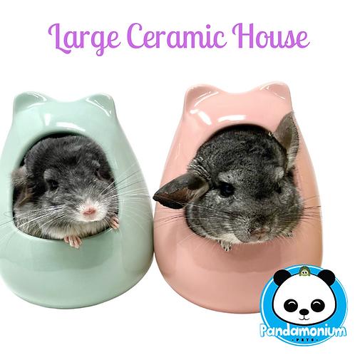 Large Ceramic house