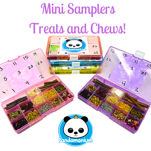 Mini Samplers! With Treats and Chews