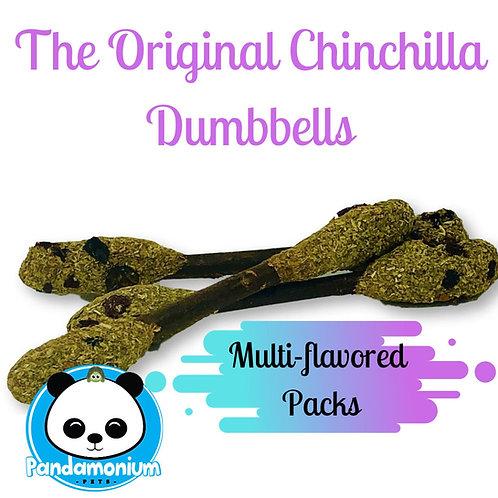 Chinchilla Dumbbells Multi-flavored Packs