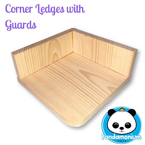 Corner Ledges with guards- poop guards/ scatter guards
