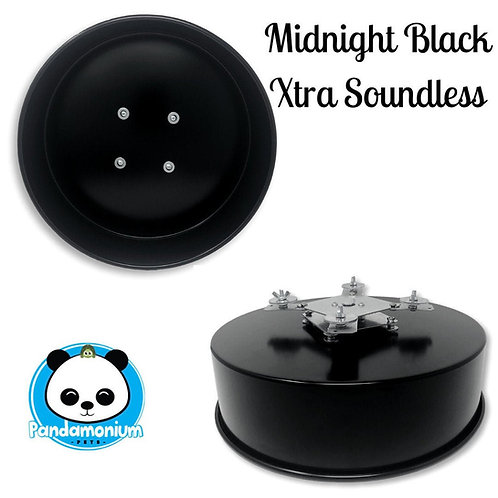 Midnight Black XTRA Soundless Spinner- Xtremely LIGHT! Pandamonium Petsor