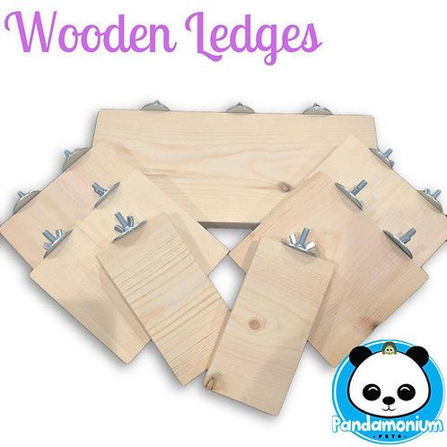 Wooden Ledges
