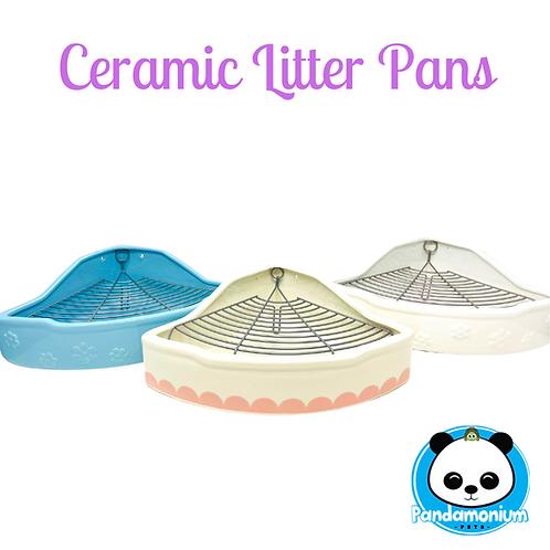 Ceramic Litter Pans
